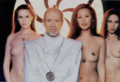 Rael and three female Raelians