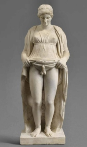 Hermaphroditus statue from Roman times