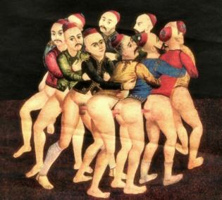 Trenecito circle sex ritual