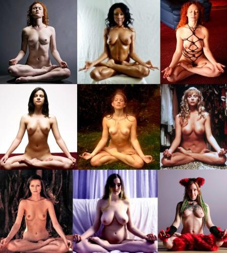 Naked meditation 1