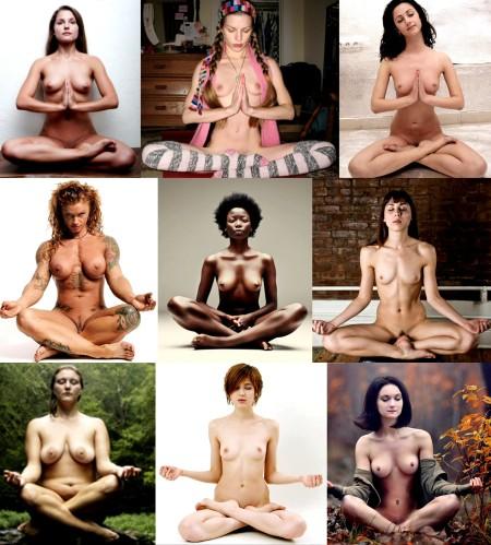 Naked meditation 2